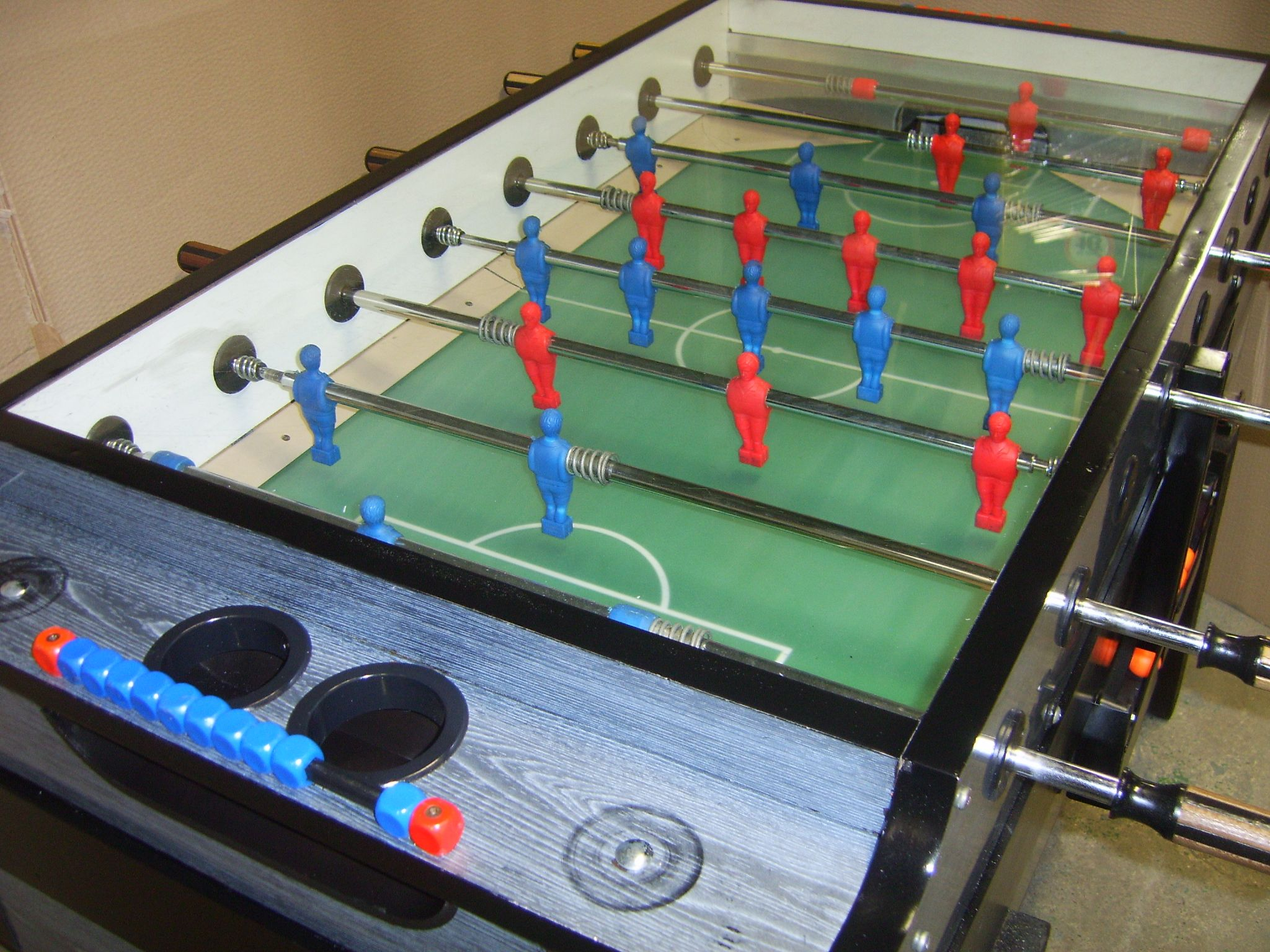 Genuine Italian Garlando Football Foosball Table Coin Operated - Italian foosball table
